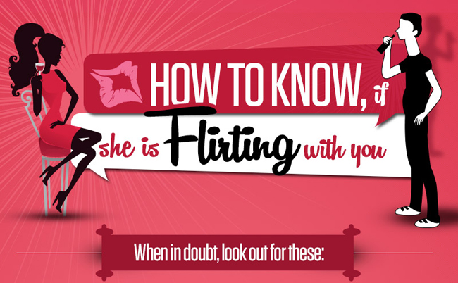 How to know if she is Flirting with you?
