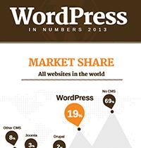 WordPress in Numbers 2013