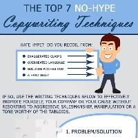 The Top 7 No-Hype Copywriting Techniques