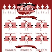 How To Sit Stylishly In Cinema? (Infographic)