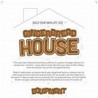 Build A Life-size Hansel and Gretel Gingerbread House (Infographic)