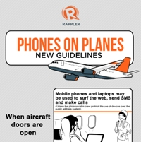 Phones on Planes: PH New Guidelines (Infographic)