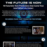 The Future is Now: 10 Futuristic Tech Predictions that Came True