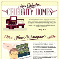 The Most Ridiculous Celebrity Homes