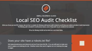 Local SEO Audit Checklist
