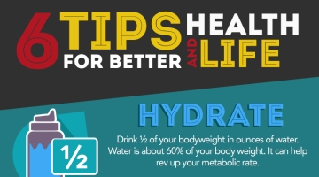 Six Tips For Better Health and Life