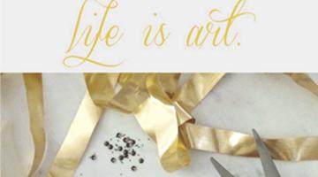 Life is Art | Ektory Home Decor