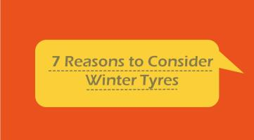 7 Reasons To Consider Winter Tyres