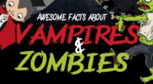 Awesome Facts People Should Know About Vampires and Zombies (Infographic)