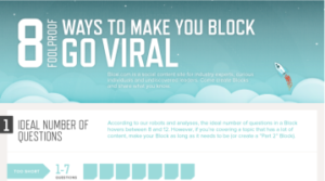 How to make your Block go VIRAL