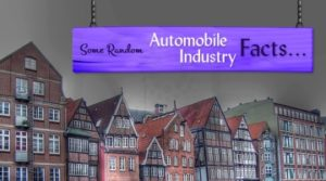 Random Automobile Industry Facts
