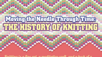 The History of Knitting [INFORGRAPHIC]