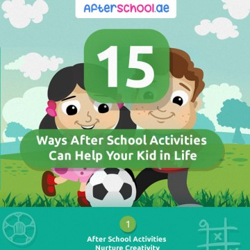 15 Ways After School Can Help Kids In Life (Infographic)