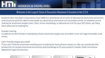 Aluminum Trim Molding