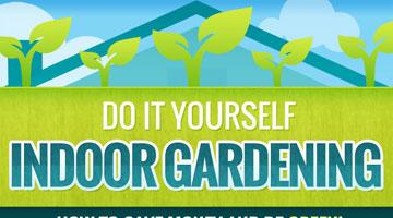 DIY Indoor Gardening: How to Save Money & Be Green