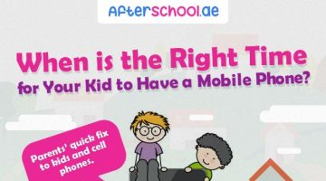 Is Your Kid Having a Cell Phone? (Infographic)