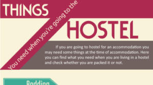 Things You Need When You're Going To The Hostel