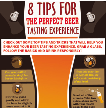 8 Tips for the Perfect Beer Tasting Experience