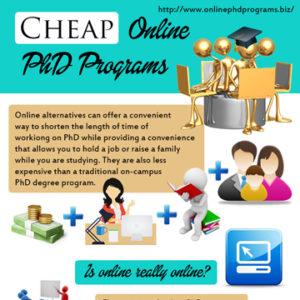 Cheap Online PhD Programs