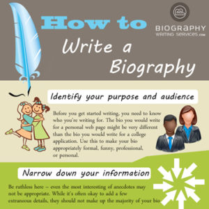 Tips on Writing a Biography