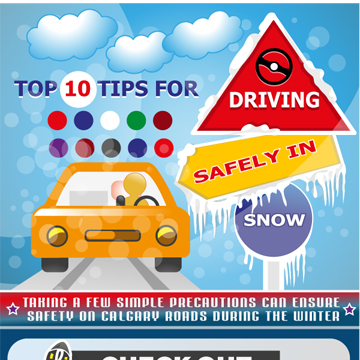Top 10 Tips for Driving Safely in Snow