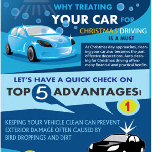 Why Treating Your Car for Christmas Driving Is a Must