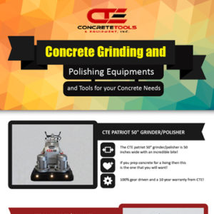 Concrete Grinding and Polishing Equipments, Concrete Tools and Equipment