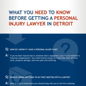Detroit Personal Injury FAQs