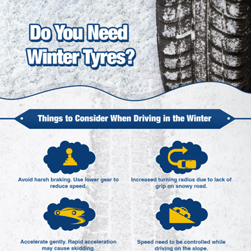 Express Of Walton Present Winter Tyres Feature and Benefits