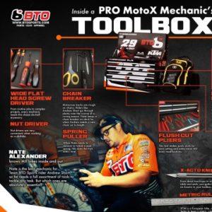 Look Inside a Pro Motocross Mechanics Tool Kit