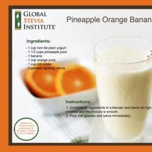 Pineapple Orange Banana Smoothie