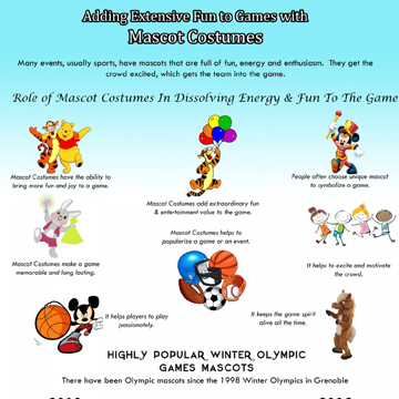 Adding Extensive Fun to Games with Mascot Costumes!
