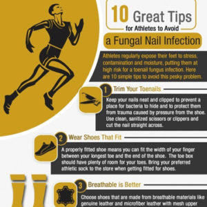 10 Things Athletes Need to Know to Avoid a Toenail Fungal Infection