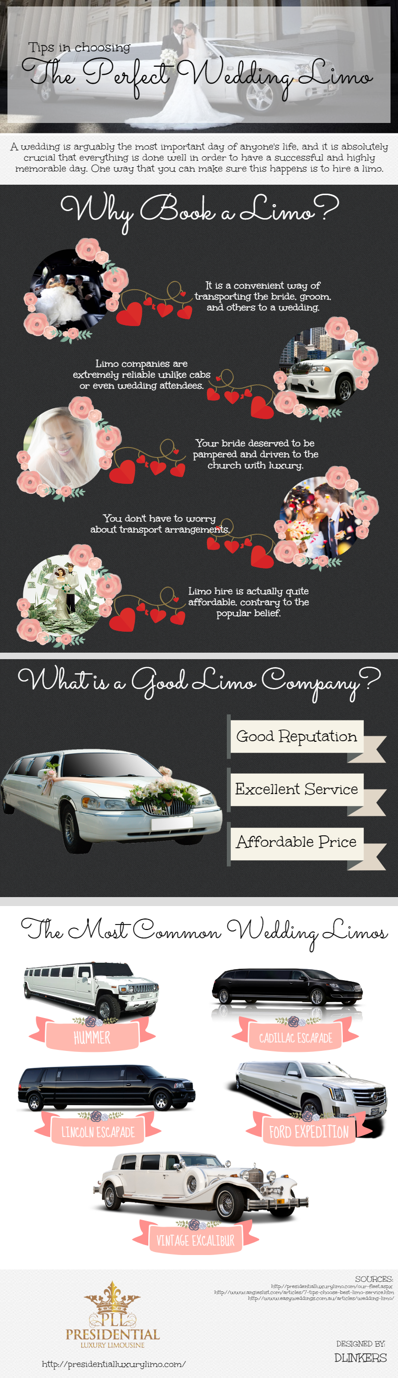 Tips In Choosing The Perfect Wedding Limo