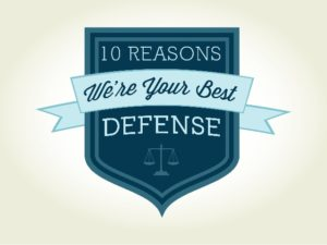 Ten Reasons We Are Your Best Defense