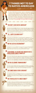 7 Things NOT to Say to Native Americans
