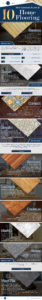 10 Most Common Types of Home Flooring Infographics 2