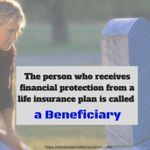 The definition of a life insurance beneficiary infographic