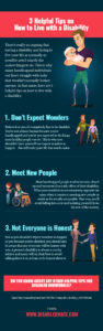 3 Helpful Tips on How to Live with a Disability