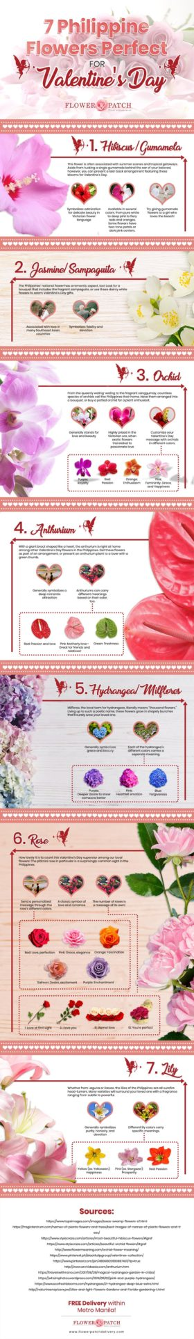 Romance in the Philippines: 7 Local Flowers Perfect for Valentine's Day