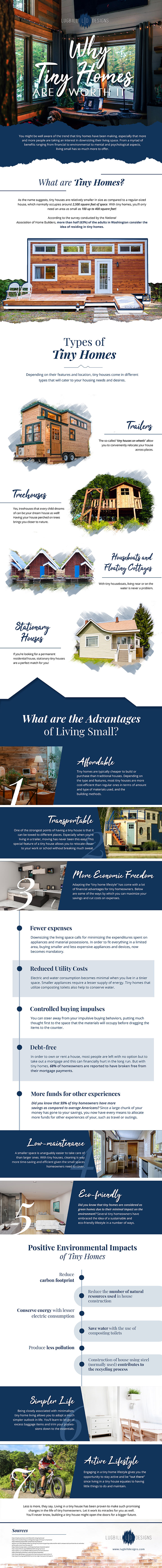 Why Tiny Homes Are Worth It Infographic