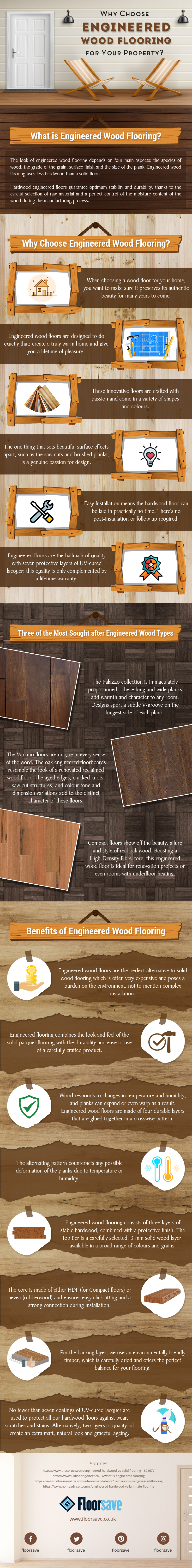 Why Choose Engineered Wood Flooring For Your Property?