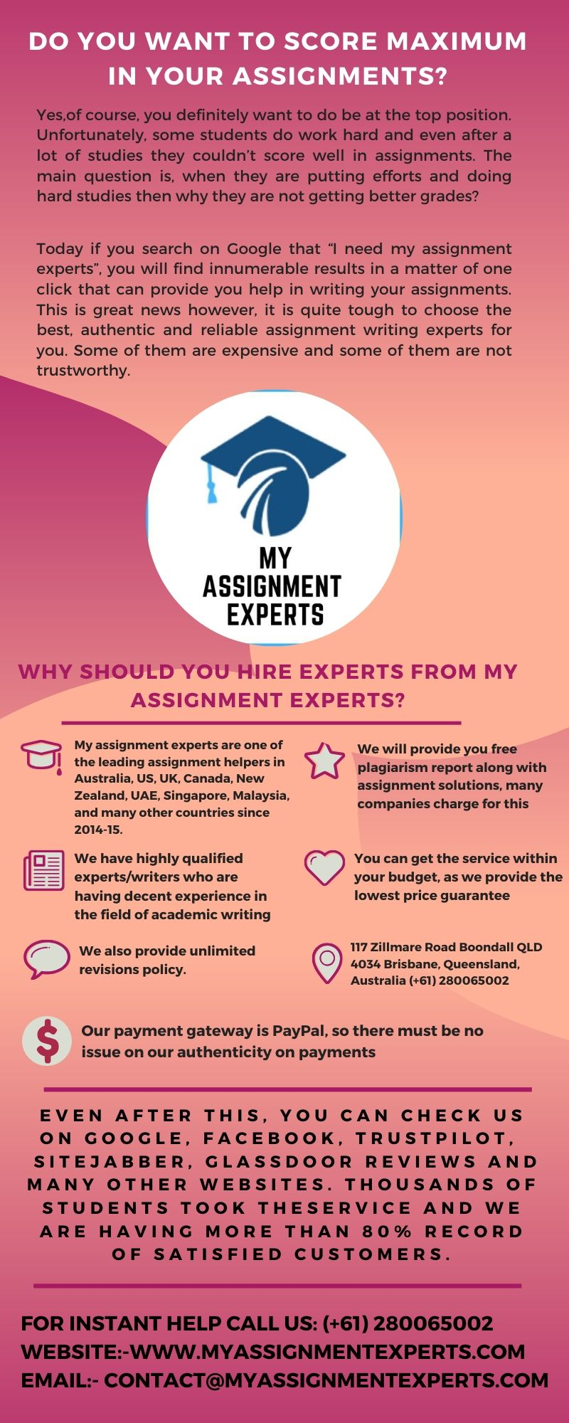 Do You Want to Score Maximum in Your Assignments?