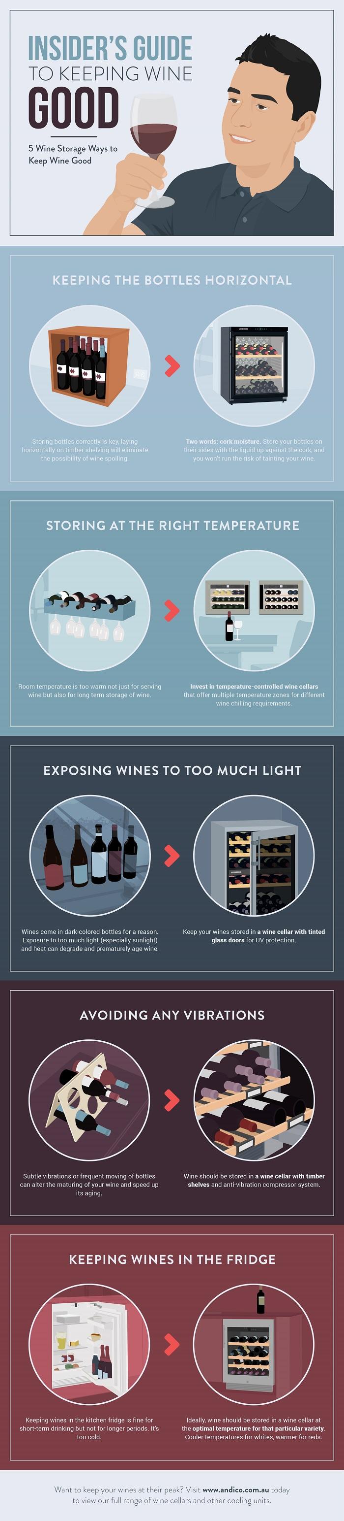 Wine Storage Tips