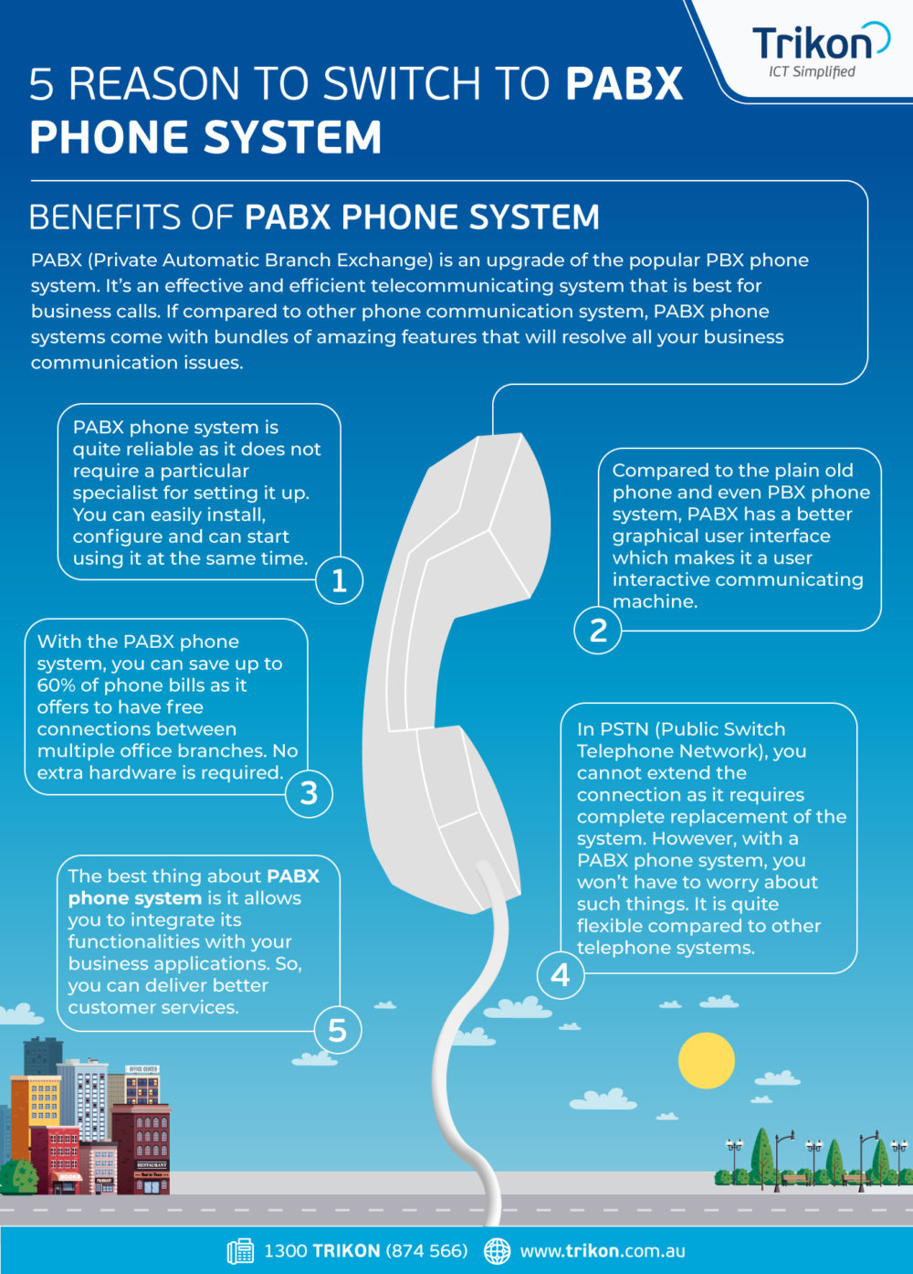 5 Reason to Switch to PABX Phone System