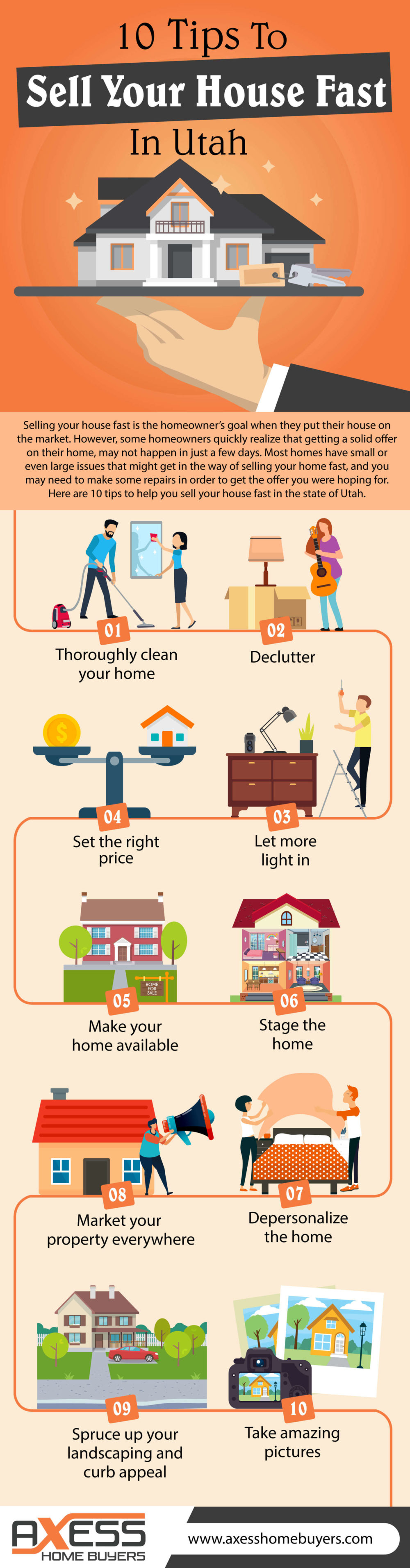 10 Tips To Sell Your House Fast In Utah