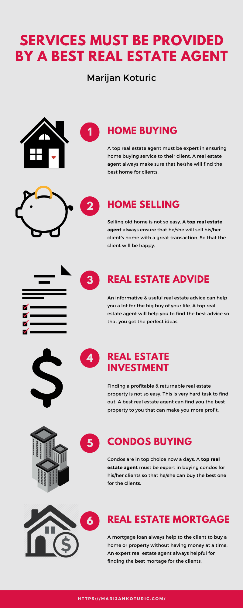 The Best Services Provides By a Real Estate