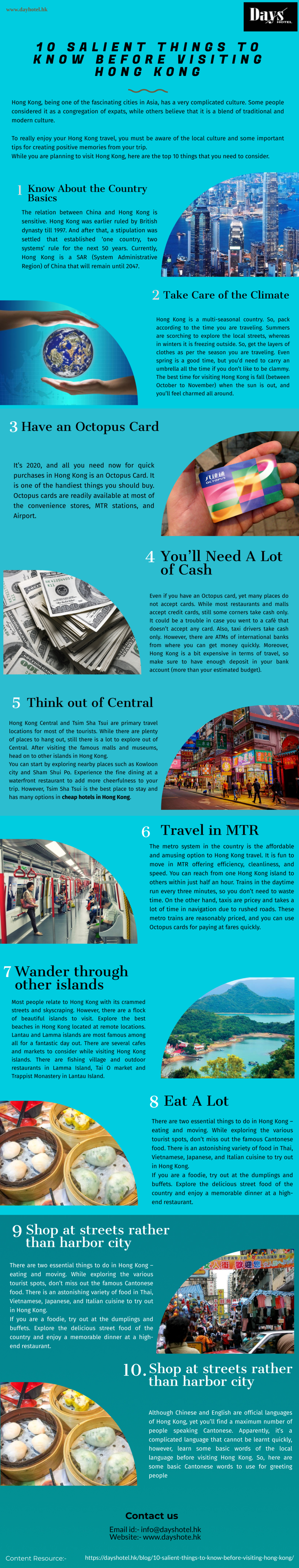 10 Salient Things to Know Before Visiting Hong Kong