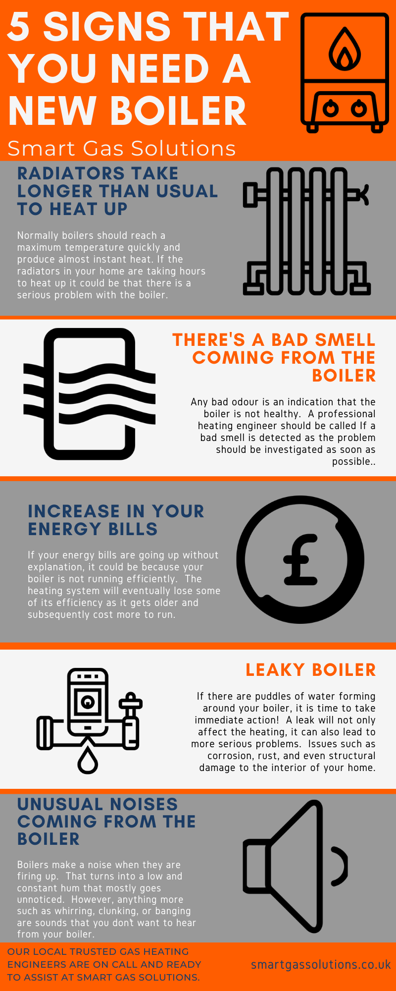 5 Signs Your Home May Need A New Boiler