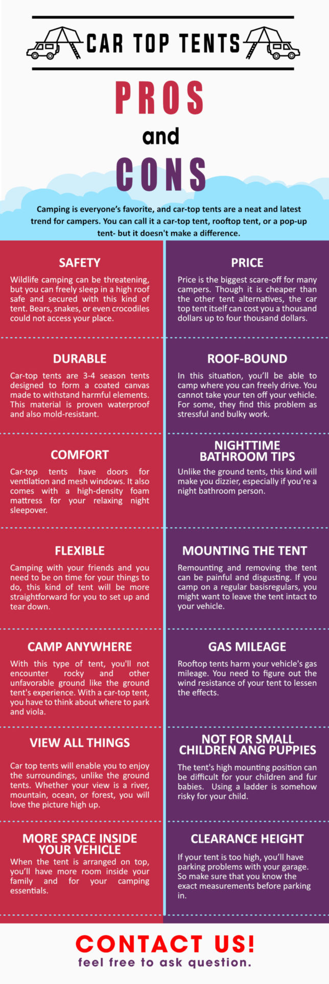 Car Top Tents: Pros and Cons